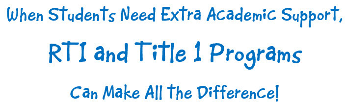 rti and title 1 programs header