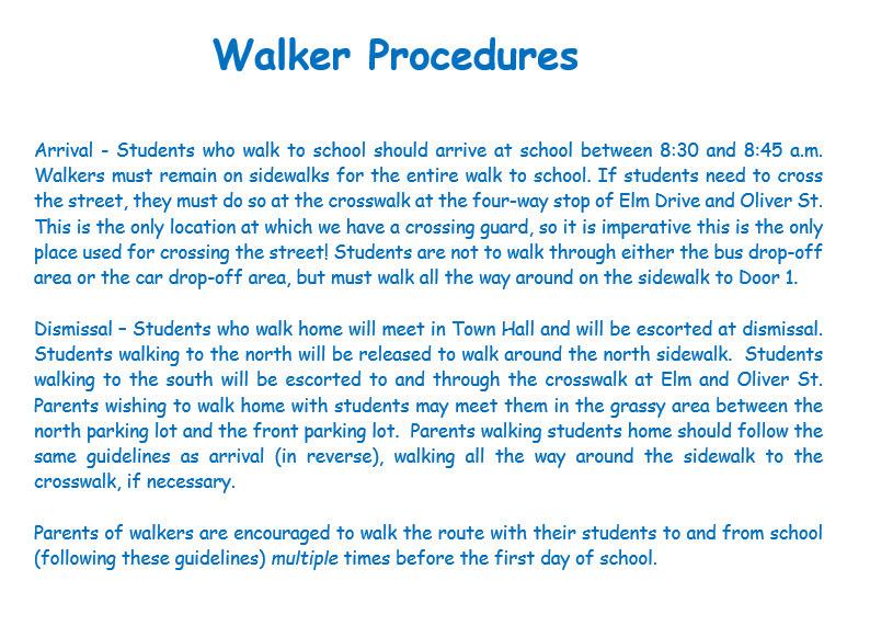 walker procedures list