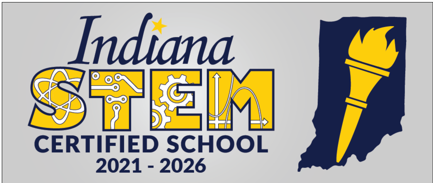 The Indiana Department of Education has designated Central Elementary a STEM-Certified school for 2021-2026