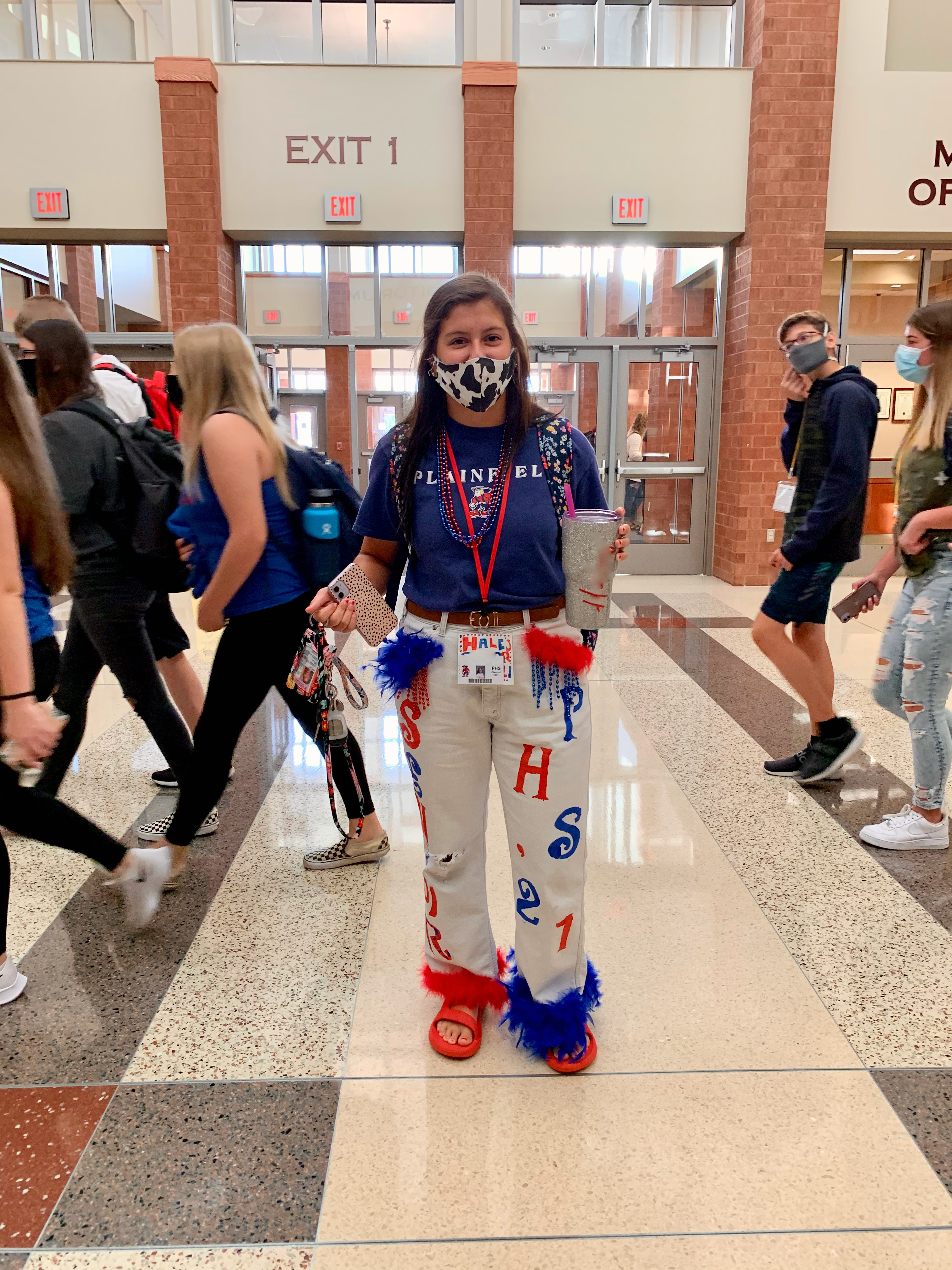 Even during a global pandemic, school spirit is in full swing at PHS!
