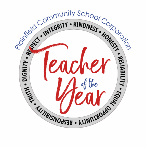 PCSC Teacher of the Year logo