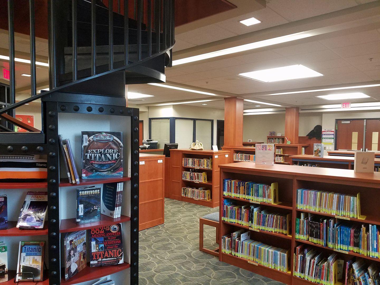 Shepherd Elementary Library