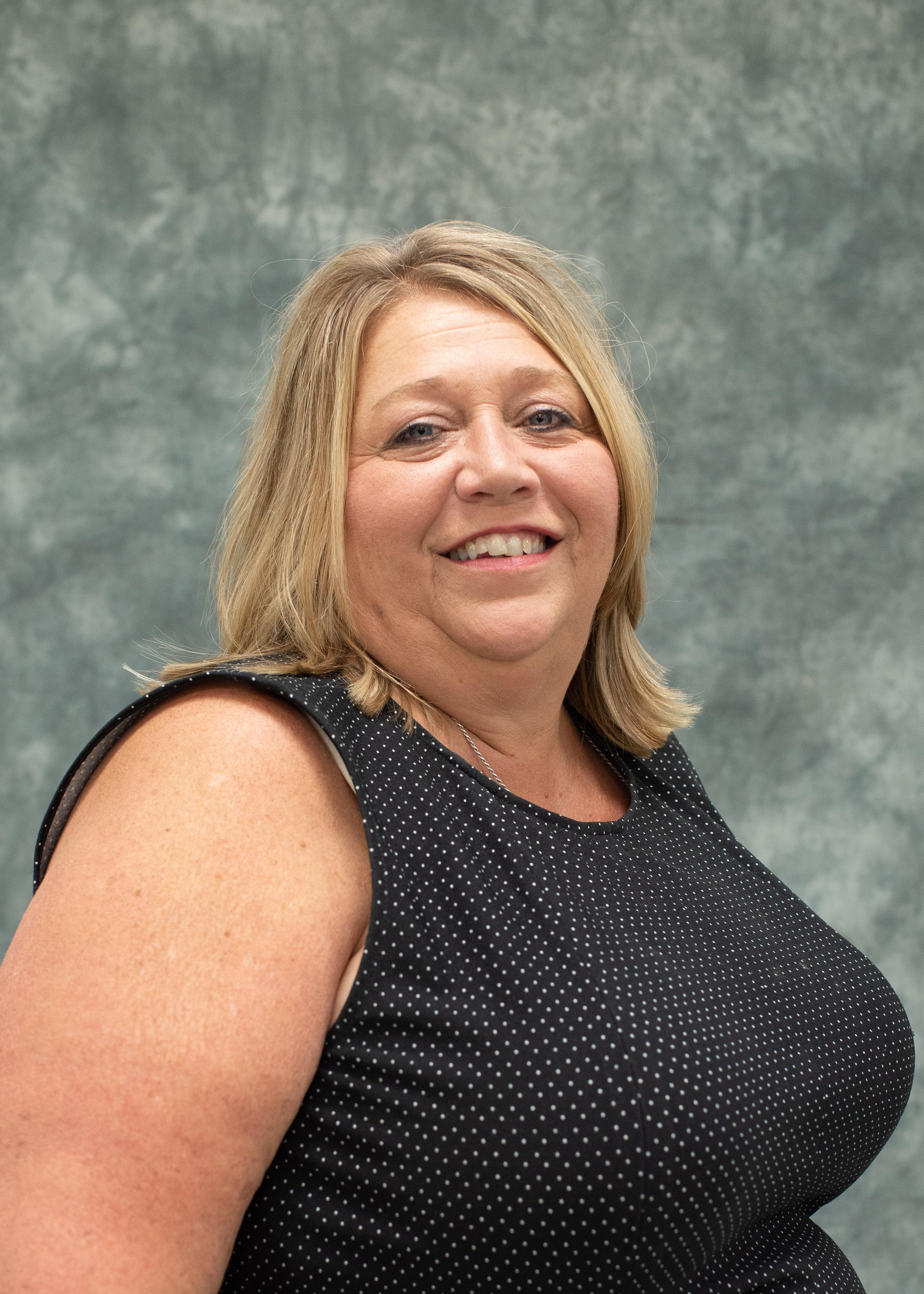 A photo of Sheila Runk, Board Member.