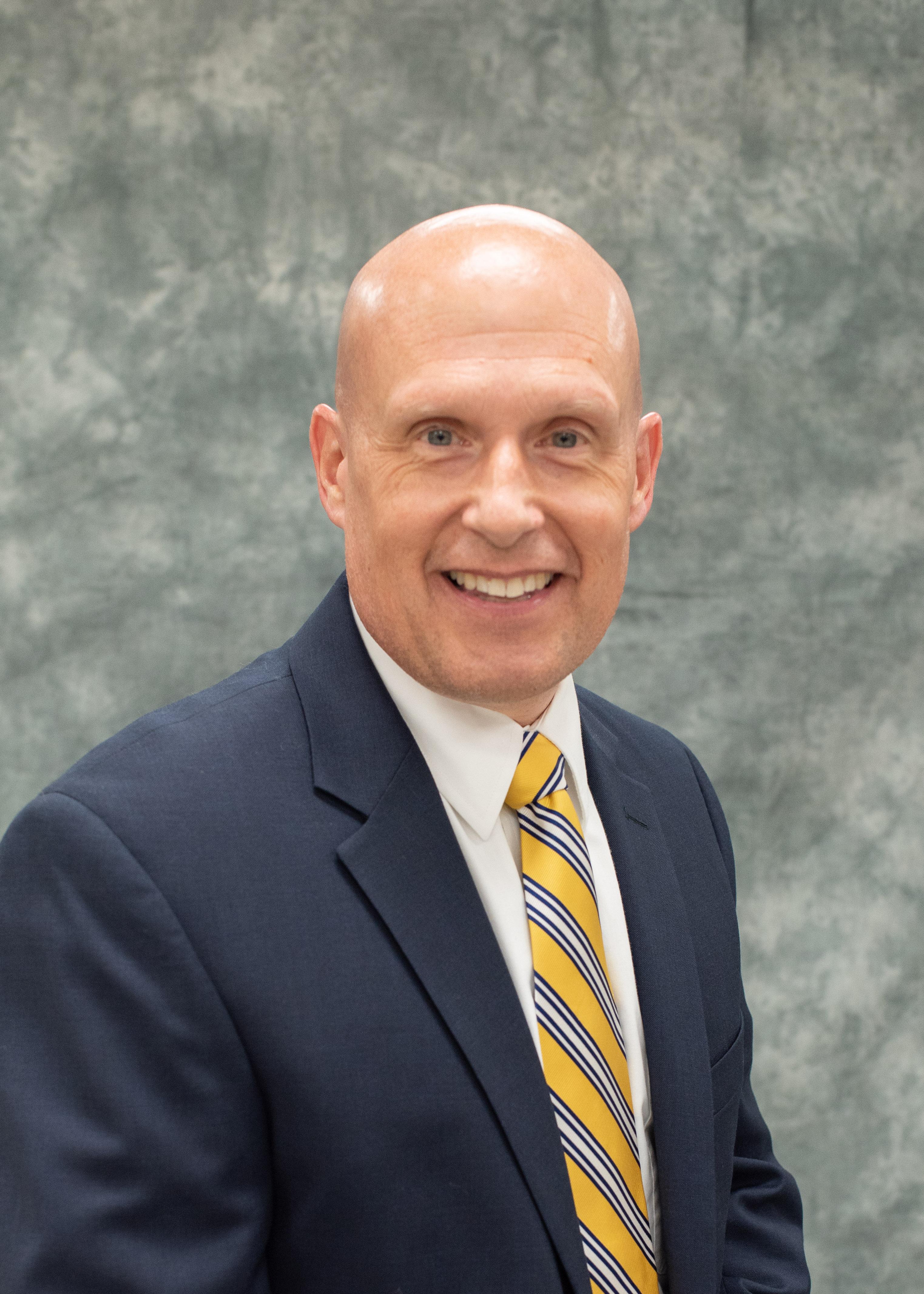 A photo of Doug Ackermann, Treasurer.