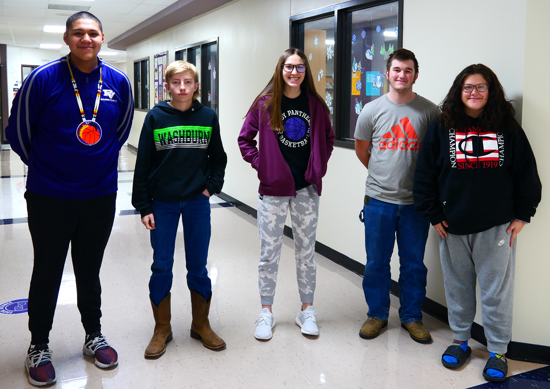 What do these students have in common? (Hint: This is the 50th anniversary of Royal Valley High School)