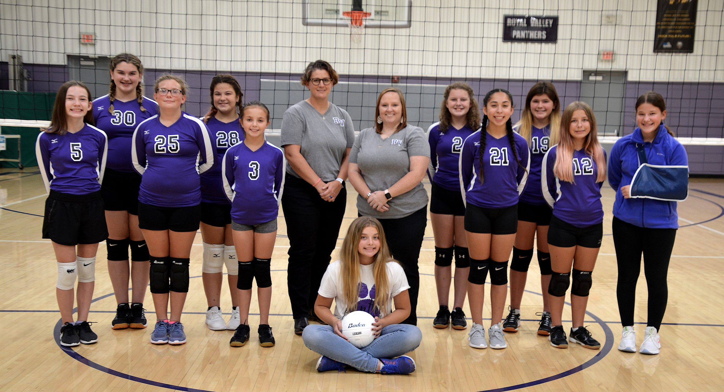 7th grade volleyball