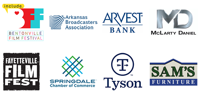 A series of logos of companies and organizations that the Springdale Schools Communications Department has partnered with.