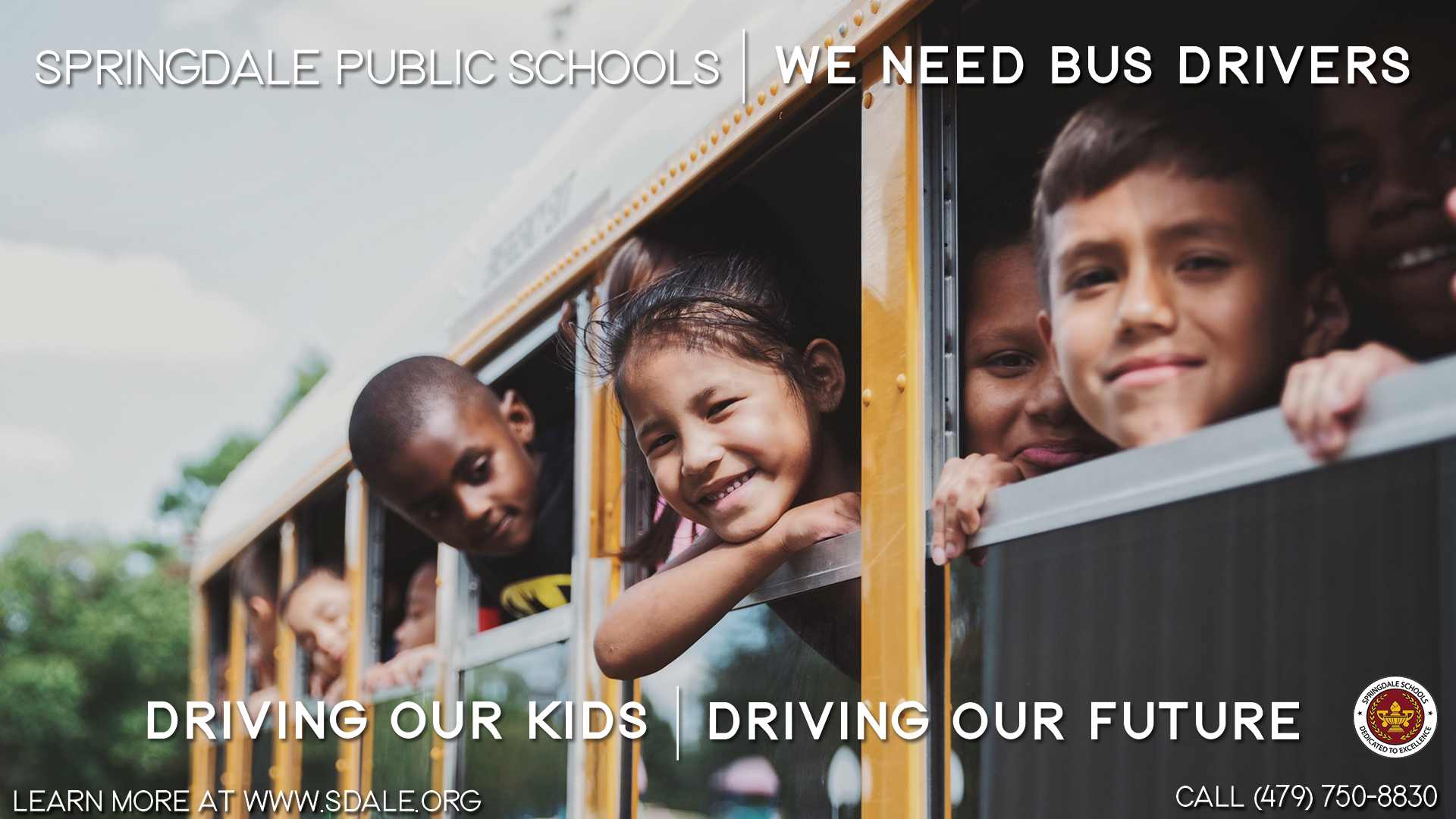 We Need Bus Drivers Graphic