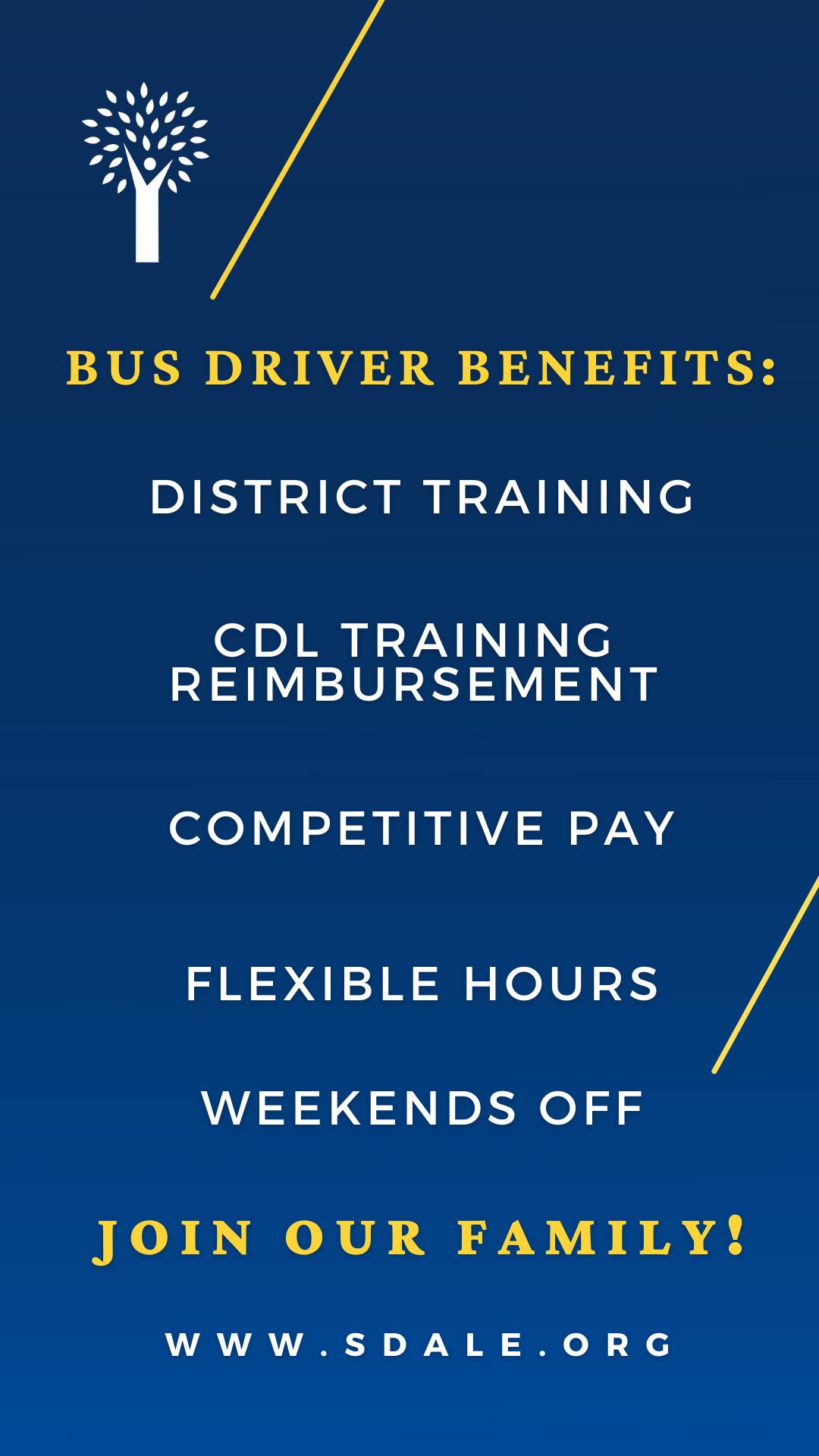 Bus Driver Benefits