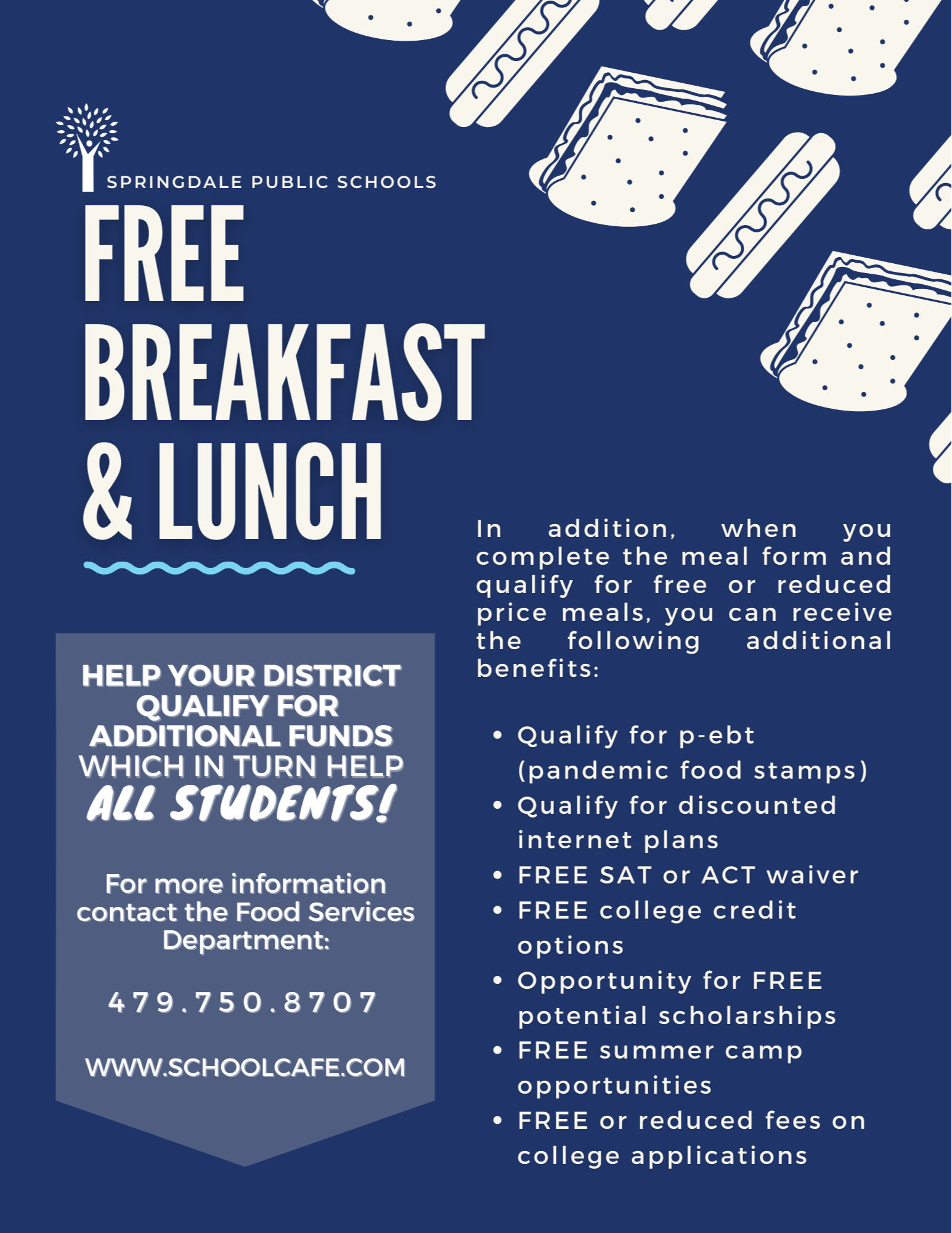 Free/Reduced Lunch Flyer