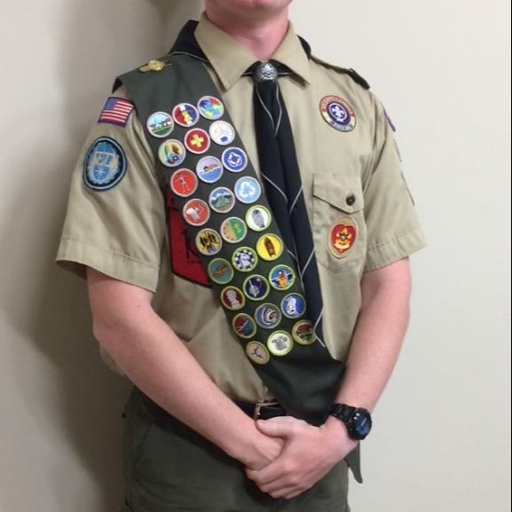 Eagle Scout Dillon McCord