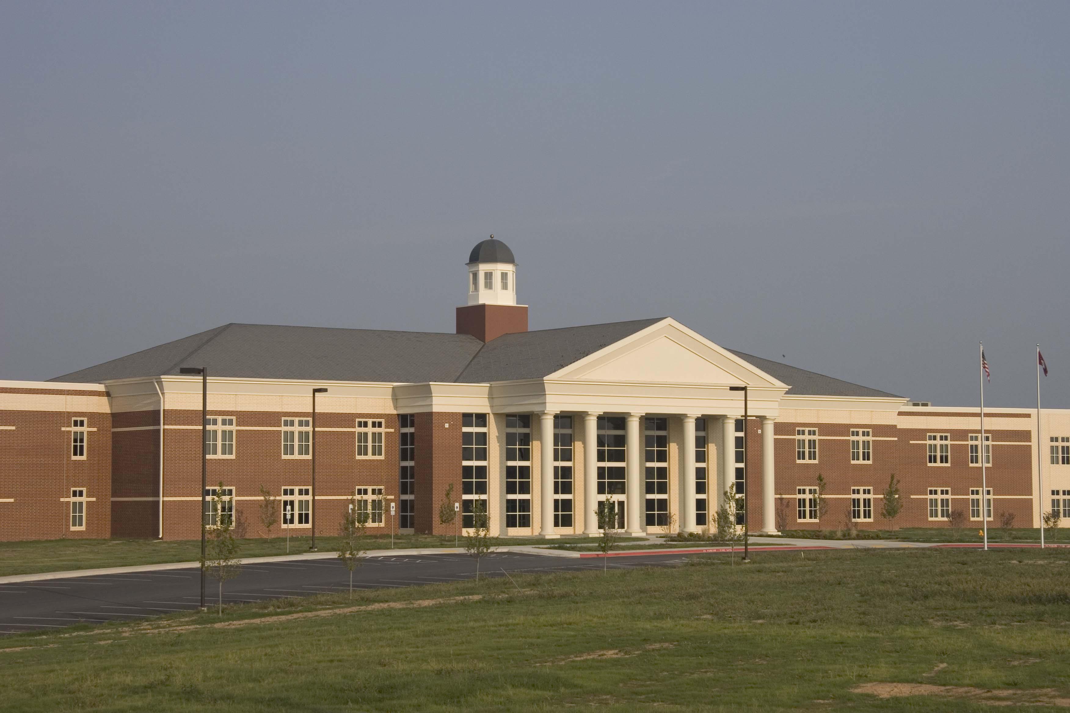 Photo of the Har-Ber High School.