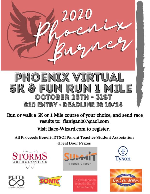 2020 Phoenix Burner Poster