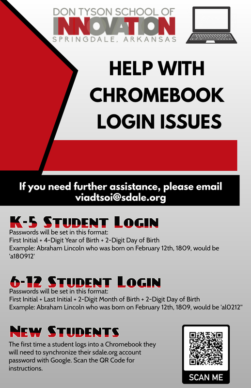 Help with Chromebook Login Issues poster