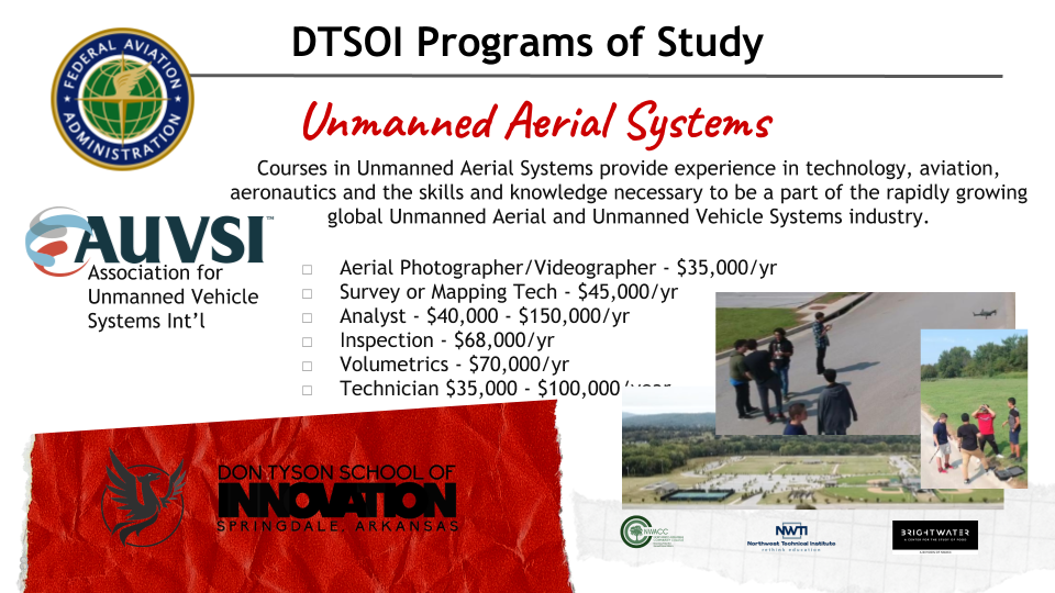 Unmanned Aerial Systems Info