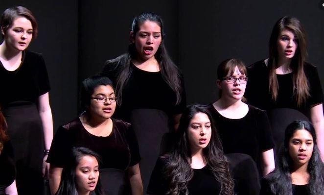 Photo of the choir.