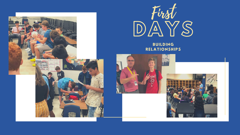 Photos of the first days activities.