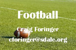 Football - Craig Foringer - cforinger@sdale.org