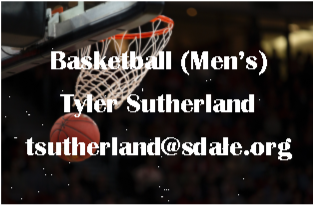 Basketball (Men's) - Tyler Sutherland - tsutherland@sdale.org