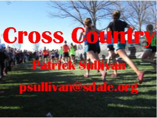 Cross Country - Patrick Sullivan - psullivan@sdale.org