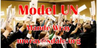 Model UN - Mande - Wray - mwray@sdale.org
