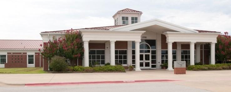 Photo of the Harp Elementary School.