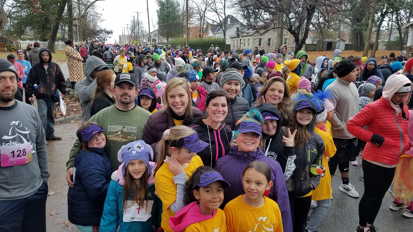 Photo of Girls on the Run Bentonville 5K Fall 2019.