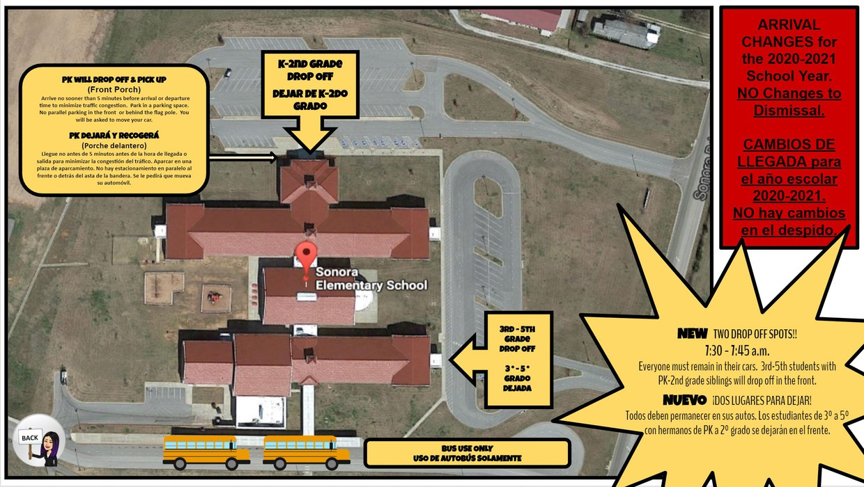 Arrival and Dismissal info