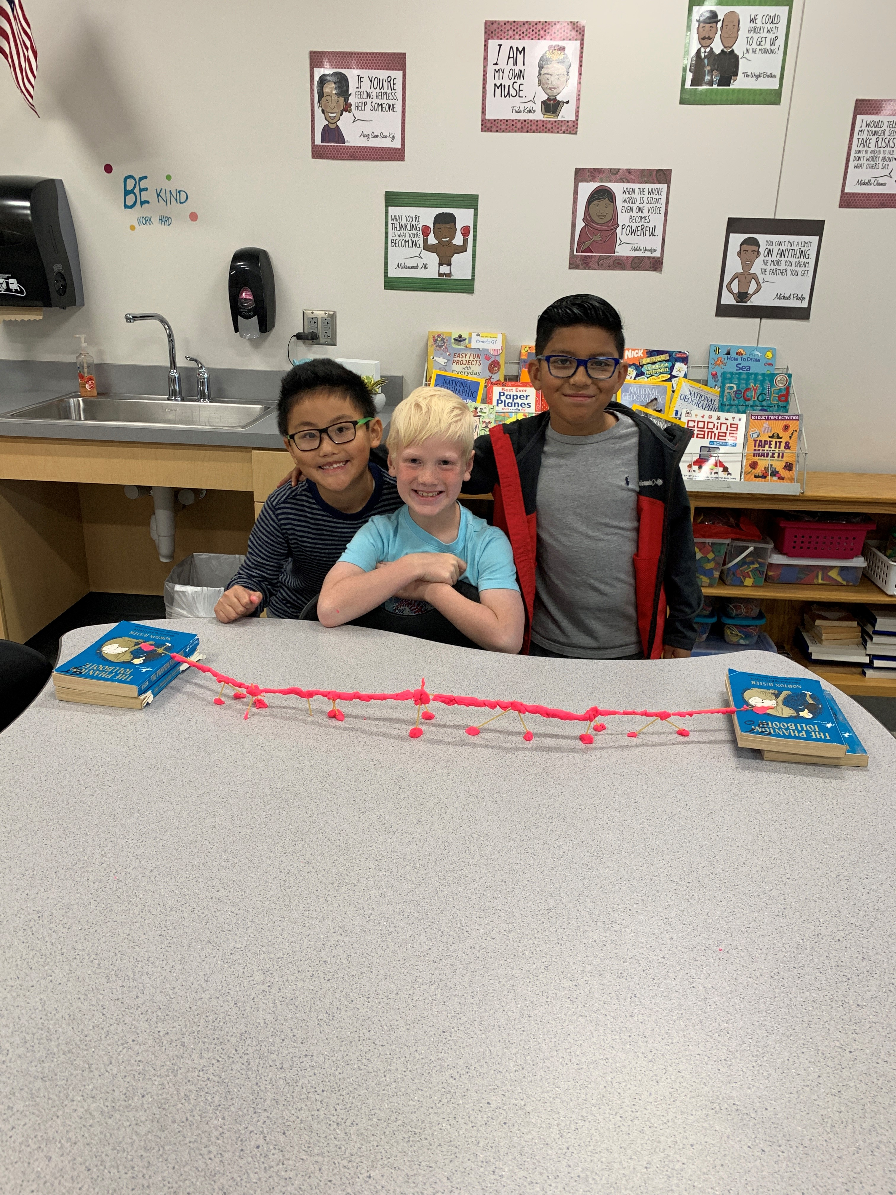 Photo of a Gifted & Talented program activity.