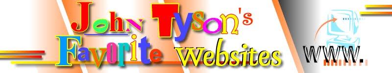 John Tyson's Favorite Websites