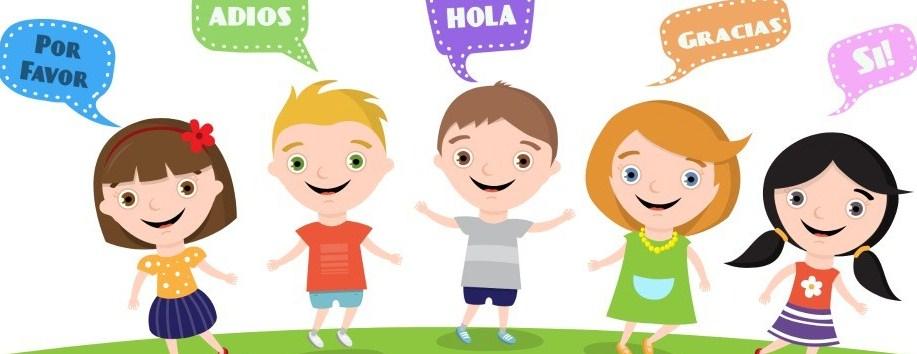 Image of kids speaking spanish.