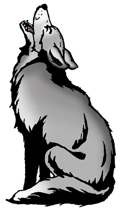 Westwood Elementary wolf logo