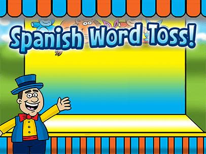 Spanish Word Toss!