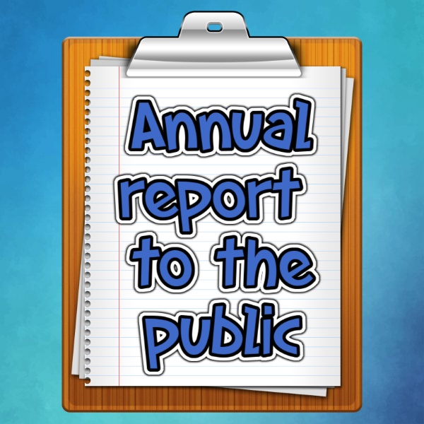 Annual report to the public