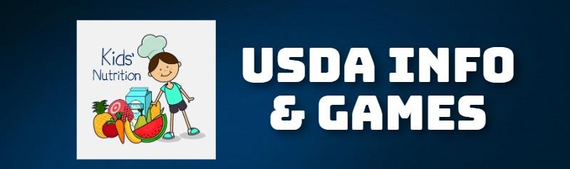 USDA INFO & GAMES