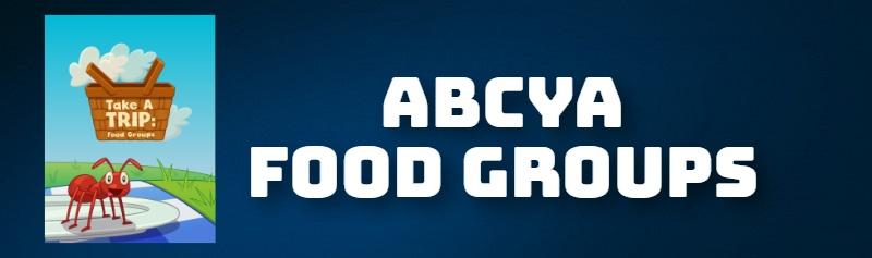 ABCYA FOOD GROUPS