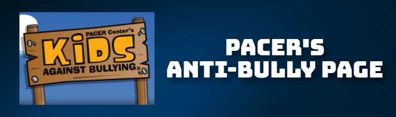 PACER'S ANTI-BULLY PAGE