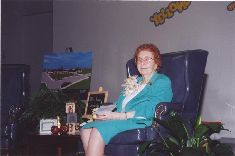 Photo of Bernice Young Jones.