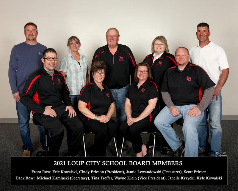 2021 LOUP CITY PUBLIC SCHOOLS - Board Members