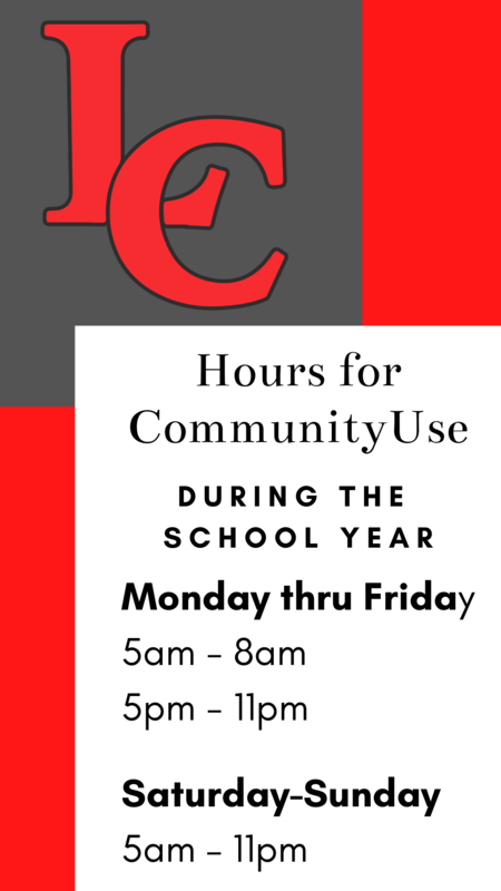 Hours for Community Use
