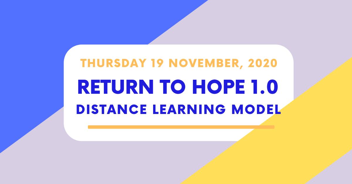 Return to HOPE 1.0
