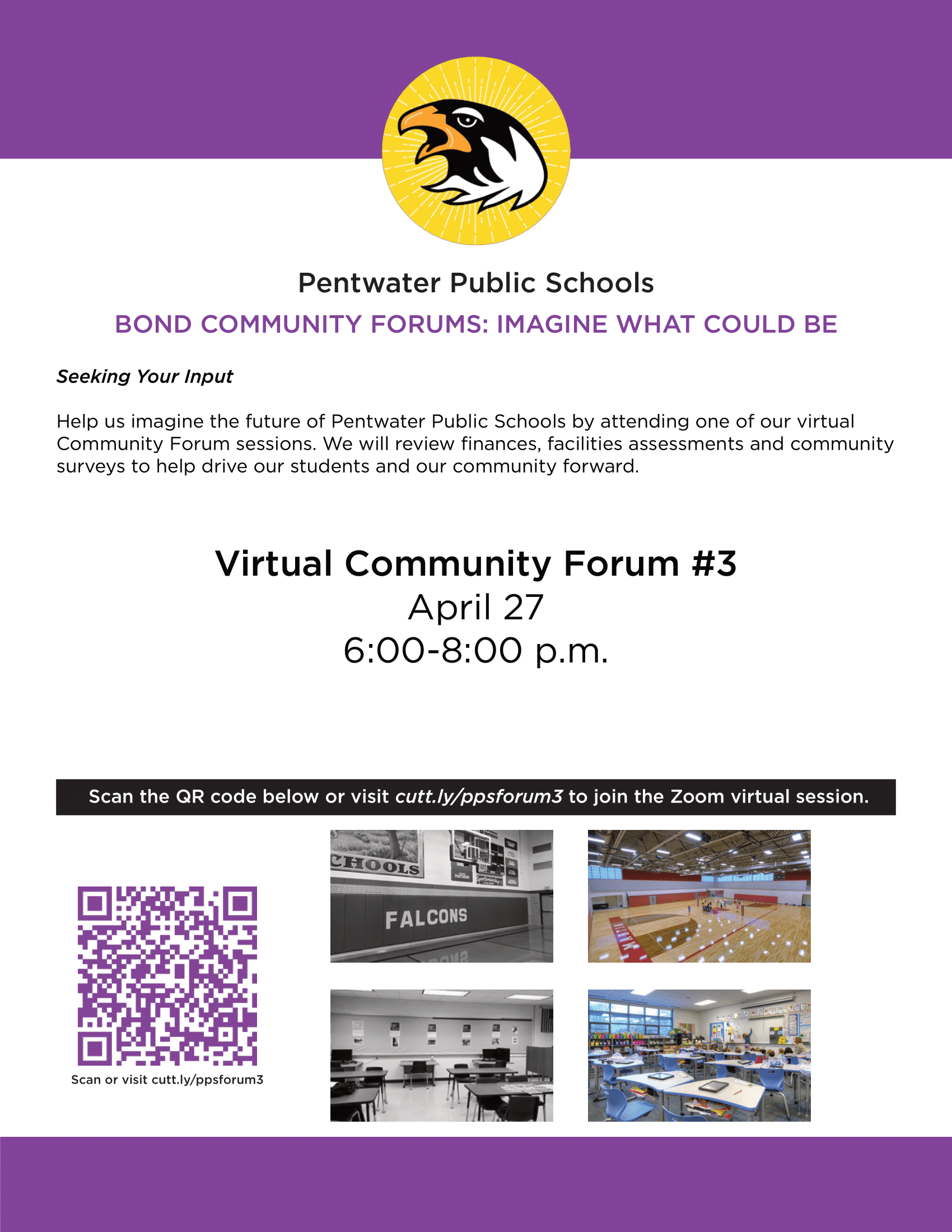 Community Forum Flyer
