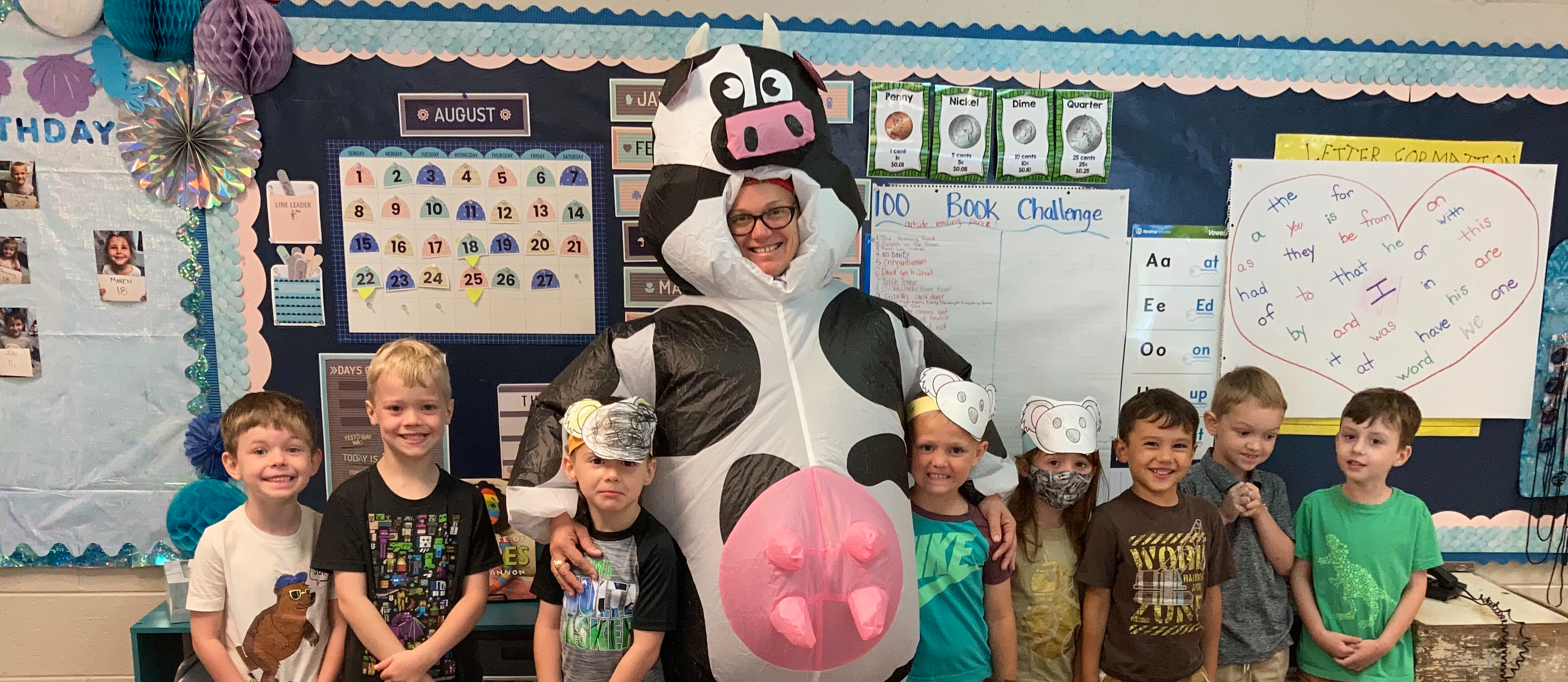 Carrie Roy as Cow