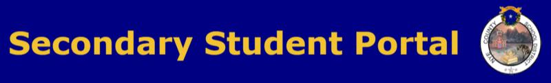 Secondary Student Portal