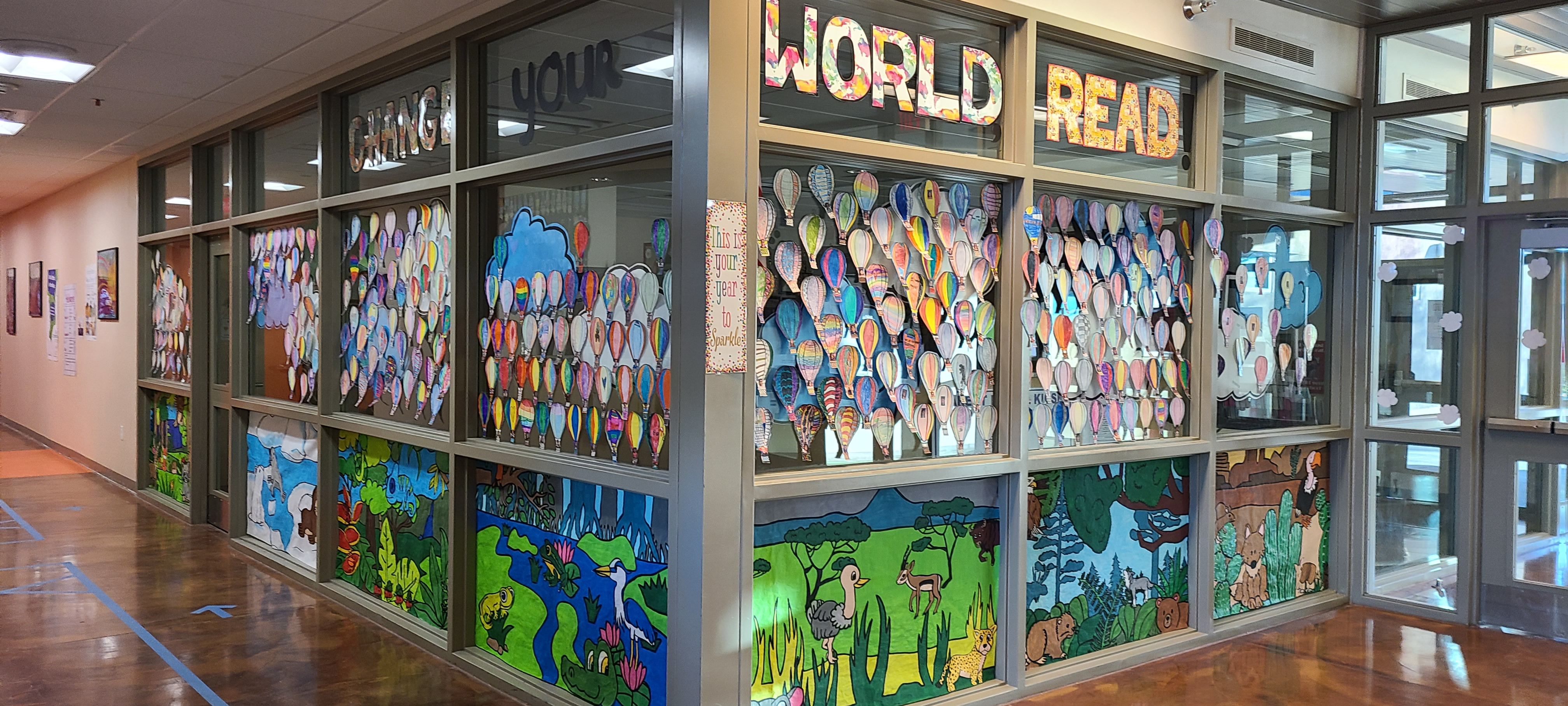Reading Week! -- Change your world: Read!