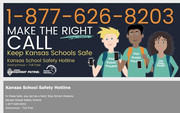 kansas school safety hotline flyer