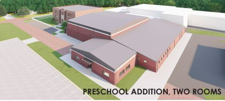 Elementary Addition (two preschool classrooms)