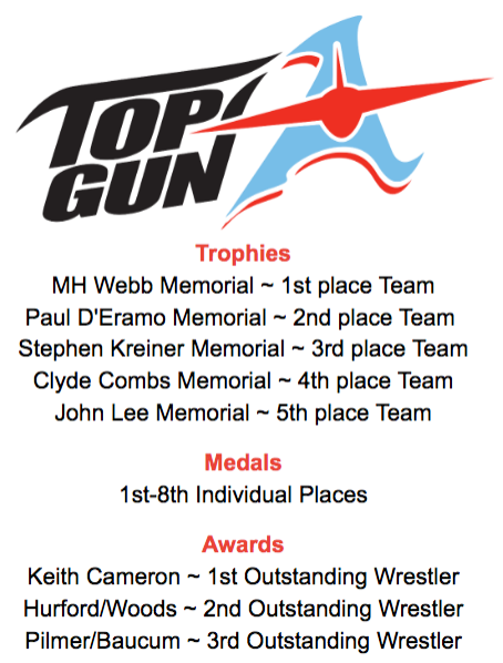 Top Gun Trophies, Medals, and Awards