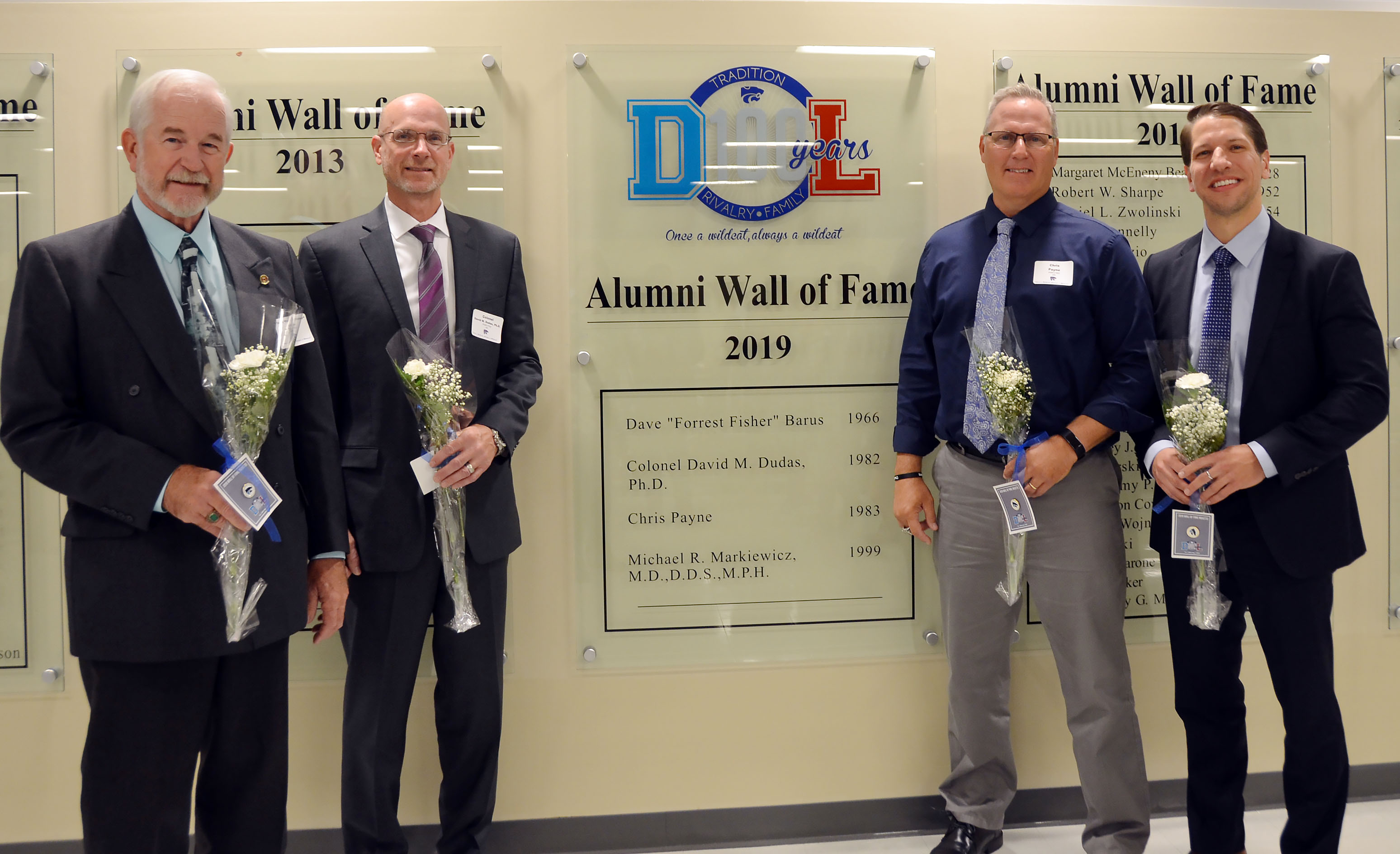 2019 Wall of Fame Inductees