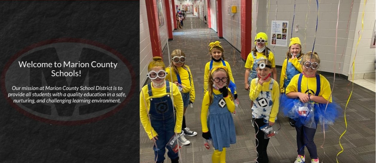 Children Dressed as Minions